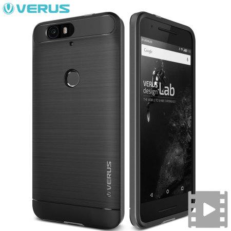 Verus High Pro Shield Series Nexus 6P Case - Steel Silver