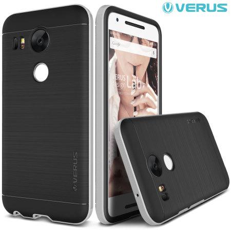 Verus High Pro Shield Series Nexus 5X Case - Satin Silver