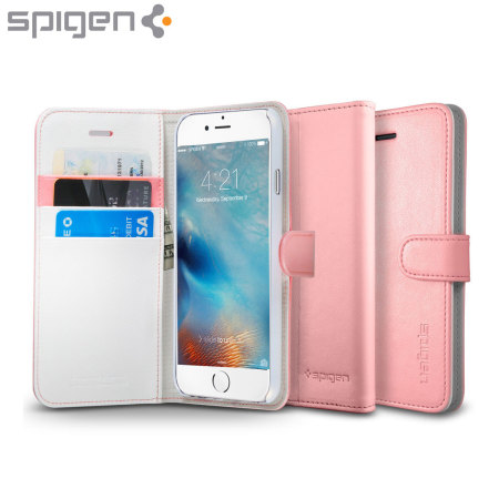 finest selection cec65 ce207 Spigen iPhone 6S Plus Wallet S Case - Rose Gold