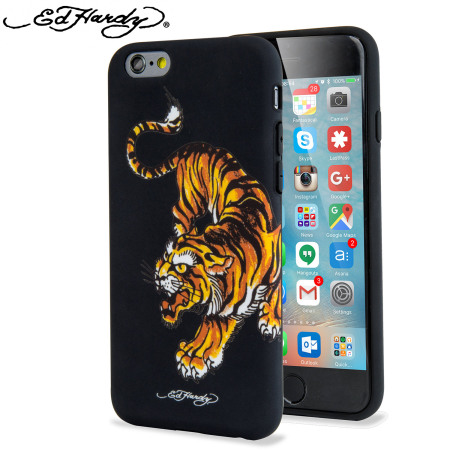 designer iphone cases ed hardy iphone 6s 6 designer shell tiger reviews 3338