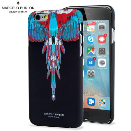 Marcelo Burlon iPhone 6S / 6 Designer Hard Shell Case - Wings