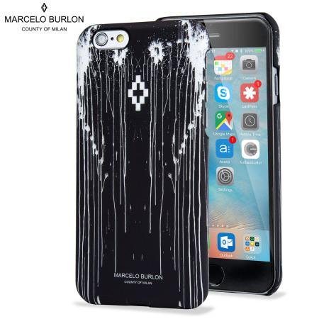 sortie en ligne 2019 real vente usa en ligne Marcelo Burlon iPhone 6S / 6 Designer Hard Shell Case - San Lorenzo
