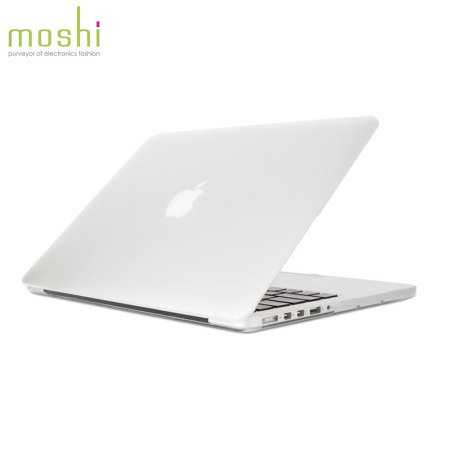 Coque MacBook Pro 13 pouces Retina Moshi iGlaze rigide – Transparente