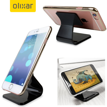 Olixar Micro-Suction iPhone Desk Stand - Black