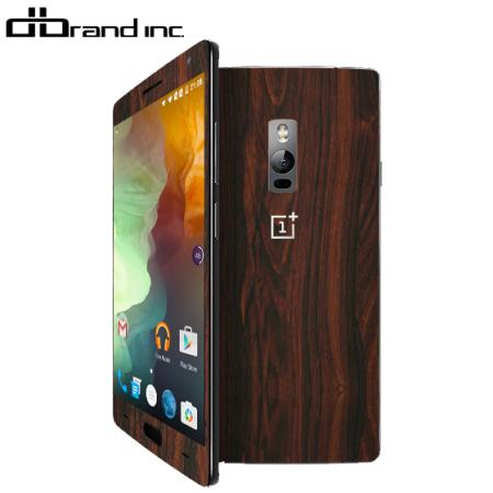 dbrand OnePlus 2 Skin - Mahogany Wood