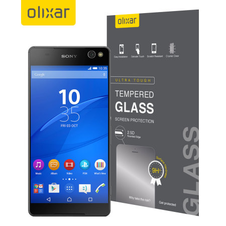 Olixar Sony Xperia C5 Ultra Tempered Glass Screen Protector