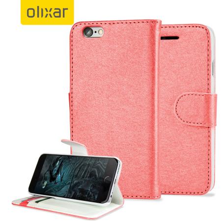 Housse portefeuille iphone 6s 6 olixar imitation cuir for Housse portefeuille iphone 6
