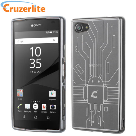 Cruzerlite Bugdroid Circuit Sony Xperia Z5 Compact Case - Clear