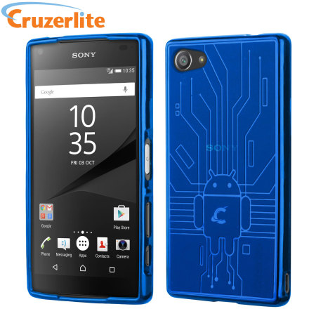 cruzerlite bugdroid circuit sony xperia z5 compact case. Black Bedroom Furniture Sets. Home Design Ideas