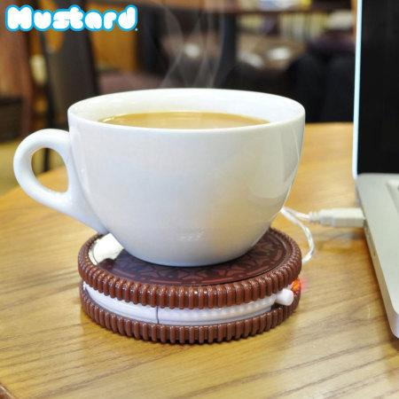 Chauffe Tasse R 233 Chaud Portable Mustard Cookie Usb