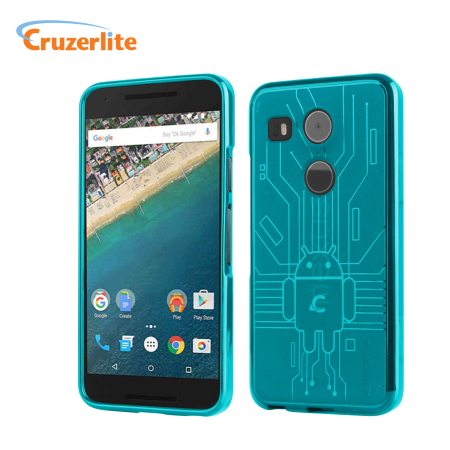 internet cruzerlite bugdroid circuit nexus 5x case teal there cents