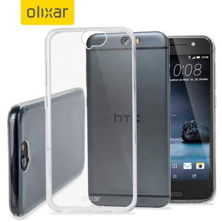 size 40 a4465 dd3a5 FlexiShield Ultra-Thin HTC One A9 Case - 100% Clear