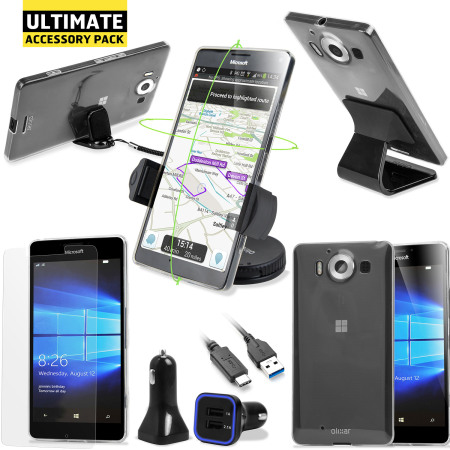item zte axon the ultimate microsoft lumia 950 accessory pack time