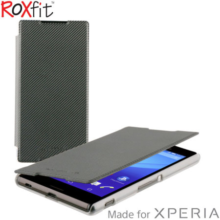 picked up wholesale get new Roxfit Sony Xperia Z5 Premium Slim Book Case - Black
