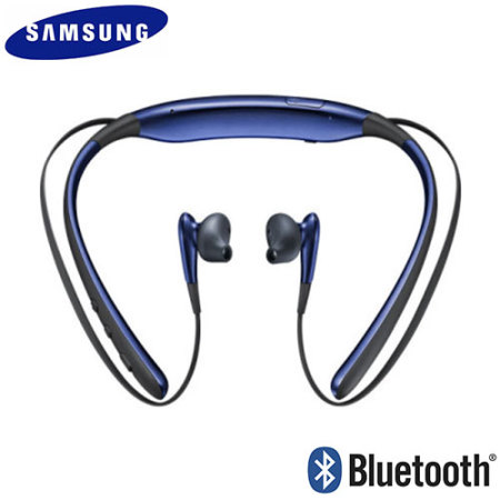 Samsung Level U Bluetooth Headphones - Blue / Black