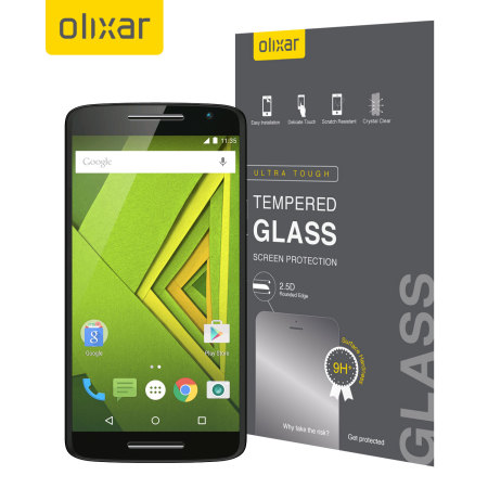 Olixar Moto X Play Tempered Glass Screen Protector