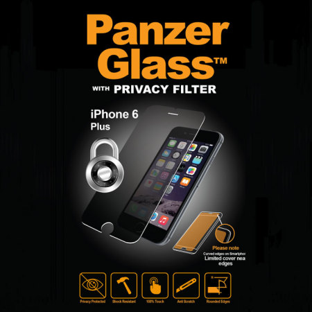 PanzerGlass iPhone 6S Plus/6 Plus Privacy Glass Screen Protector
