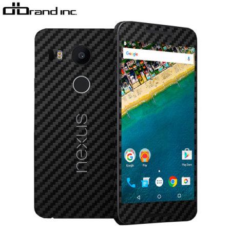 dbrand Nexus 5X Carbon Fiber Skin - Black