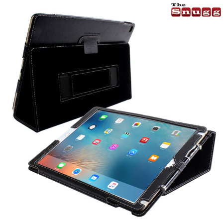 Snugg Leather Style iPad Pro 12.9 inch Case - Black