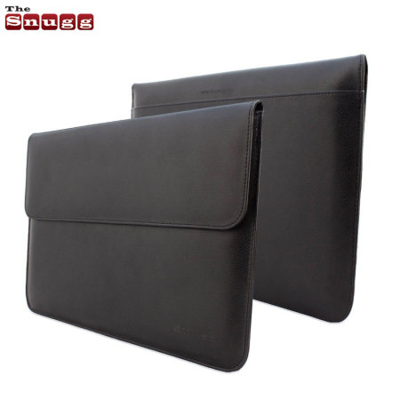 Snugg Leather-Style Wallet iPad Pro 12.9 inch Sleeve - Black