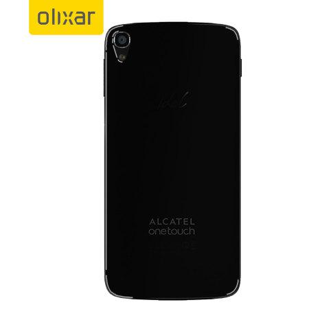 FlexiShield Alcatel Idol 3 4.7 Case - Smoke Black