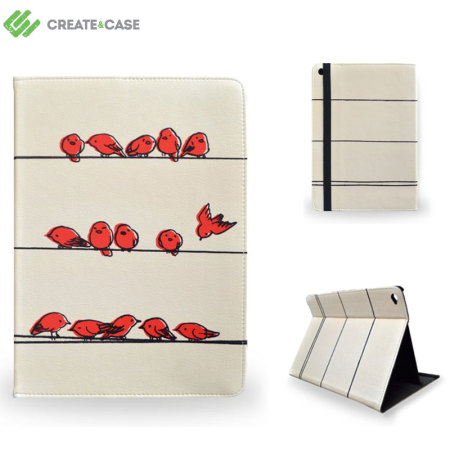 Create and Case iPad Air 2 Leather-Style Case - Hanging Out