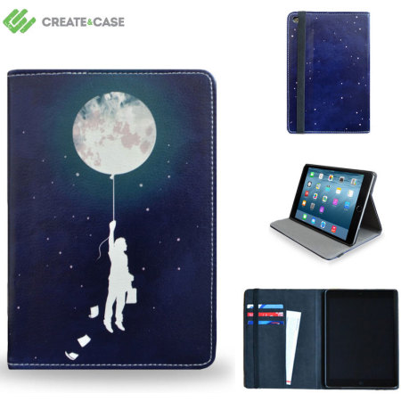 Housse en cuir ipad mini 4 create and case minuit avis for Housse ipad mini 4