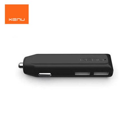his kenu dualtrip fast car charger black iPhone, even with