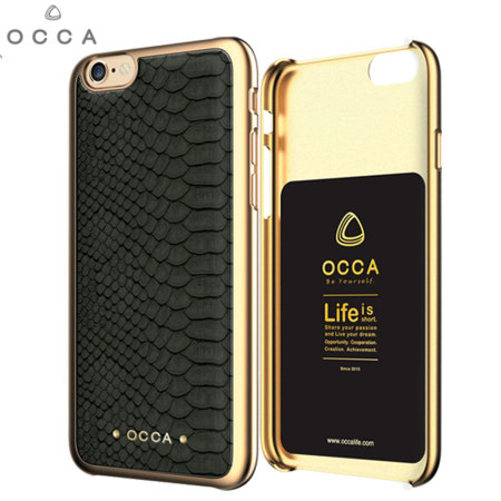 Occa Wild Premium Leather iPhone 6S / 6 Shell Case - Grey