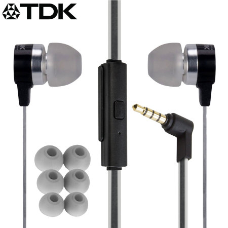 TDK SP400 Active Weather-Resistant Earphones - Black