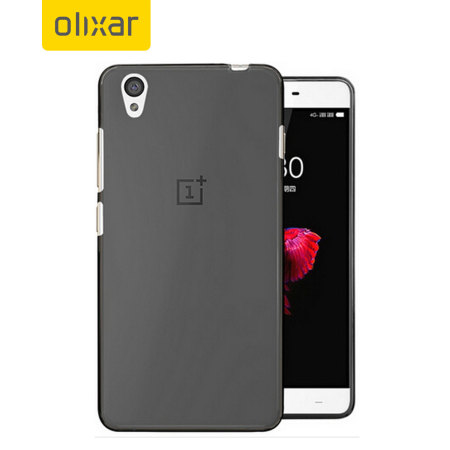 FlexiShield OnePlus X Gel Case - Black