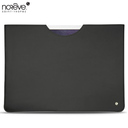 Noreve Tradition C Apple iPad Pro 12.9 inch Leather Pouch Case - Black