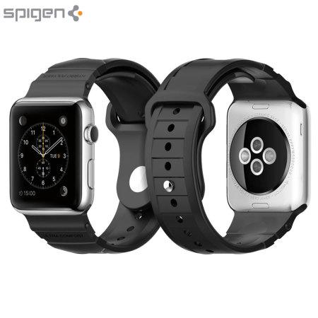 Bracelet Apple Watch 2 / 1 Spigen Rugged – 42mm - Noir