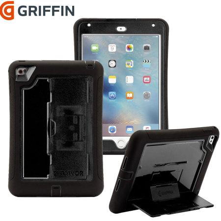 new concept eb08a 2fae5 Griffin Survivor Slim iPad Mini 4 Tough Case - Black