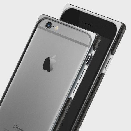 san francisco 55865 faadf Adopted Aluminium Leather iPhone 6S Plus / 6 Plus Bumper Case - Grey