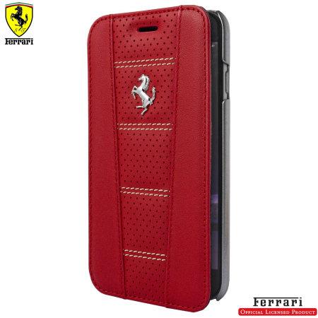 coque iphone 7 ferrari rouge