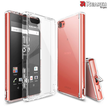 Rearth Ringke Fusion Sony Xperia Z5 Compact Case - Crystal Clear