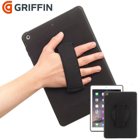 Griffin iPad Mini 4 AirStrap 360 Full Rotation Case  - Black