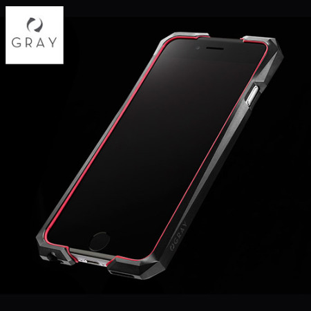 quality design fc535 daa62 Gray Advent Stealth Edition 6S/6 Premium Case - Black & Red