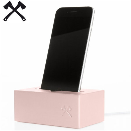 Woodcessories SolidDock iPhone 6S/6 Charging Dock - Rose Gold