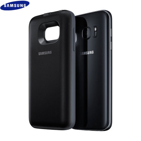 buy popular 155b4 f0ae8 Official Samsung Galaxy S7 Wireless Charging Battery Case - Black