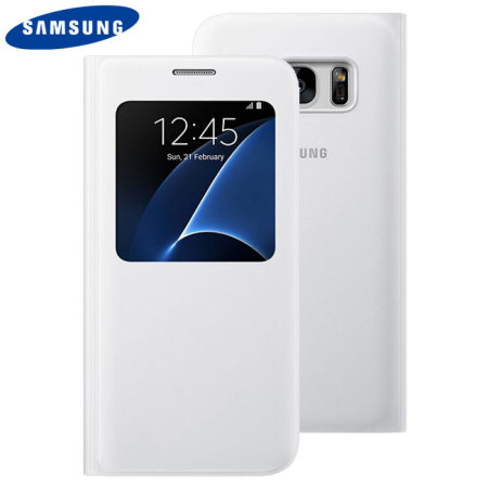 funda samsung s7 s view cover