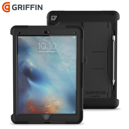 premium selection 6eade f87e3 Griffin Survivor Slim iPad Pro 12.9 inch Tough Case - Black