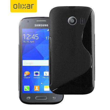 990ad149288 FlexiShield Samsung Galaxy Ace 4 Case - Black