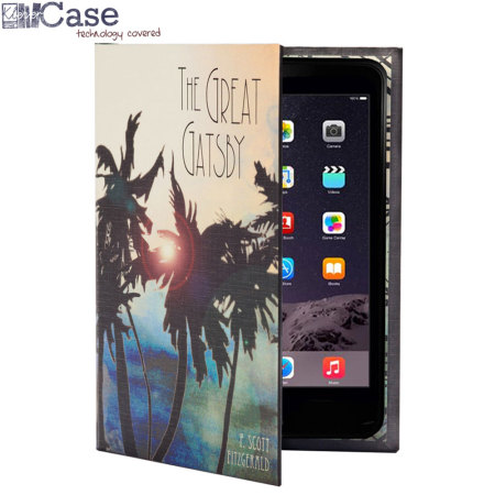 KleverCase iPad Mini 4 Book Case - The Great Gatsby