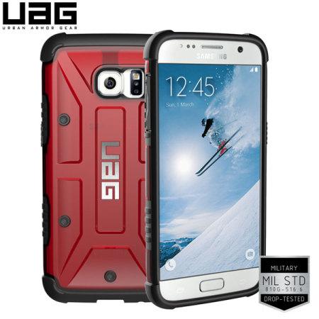 UAG Samsung Galaxy S7 Protective Case - Magma / Black