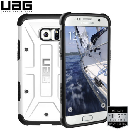 UAG Samsung Galaxy S7 Protective Case - White / Black