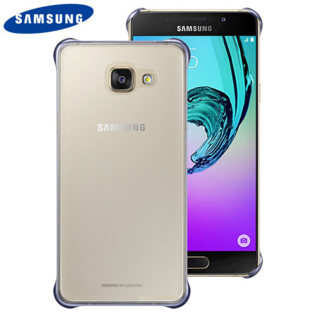 sneakers for cheap 2c1d3 dbdca Official Samsung Galaxy A5 2016 Clear Cover Case - Blue / Black
