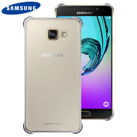 Official Samsung Galaxy A3 2016 Clear Cover Case - Silver