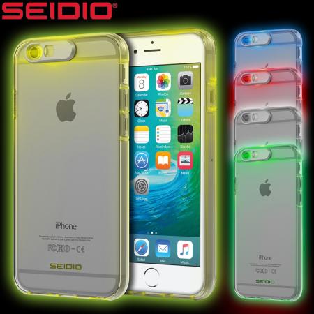 Seidio Luma Multicolour iPhone 6S Plus   6 Plus Light Up Case - Clear 88bdcb0afd